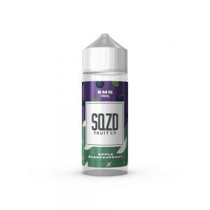 Apple Blackcurrant 100ml shortfill E-Liquid by SQZD